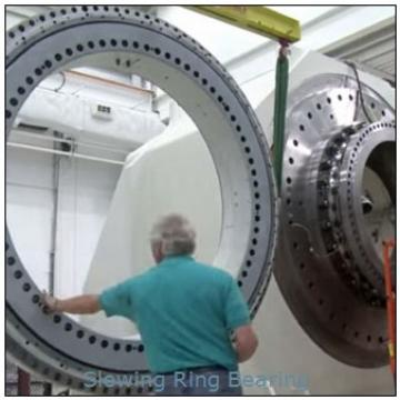 203kN.m Tilting Moment Torque SE21-125-H-25R Slewing Bearing For Radar
